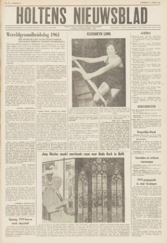 Holtens Nieuwsblad 1961-04-08