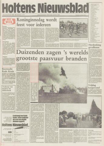 Holtens Nieuwsblad 1987-04-23