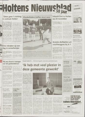 Holtens Nieuwsblad 1999-10-21