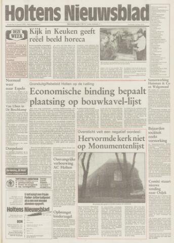 Holtens Nieuwsblad 1992-01-16