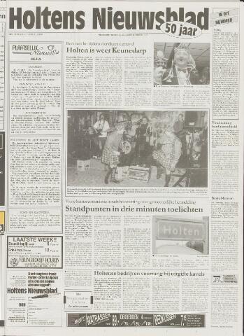 Holtens Nieuwsblad 1999-02-11