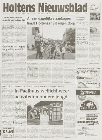 Holtens Nieuwsblad 2001-08-16