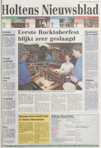 Holtens Nieuwsblad 2006-10-31