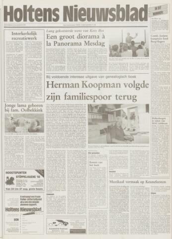 Holtens Nieuwsblad 1995-08-10