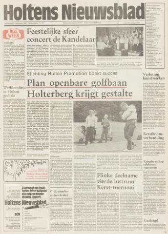 Holtens Nieuwsblad 1987-12-31