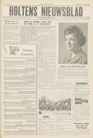 Holtens Nieuwsblad 1960-08-06