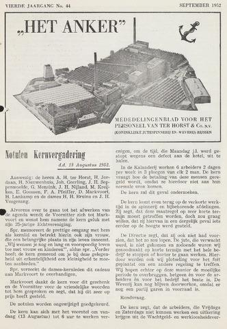 Het Anker 1952-09-01