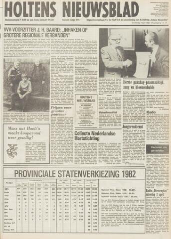 Holtens Nieuwsblad 1982-04-01