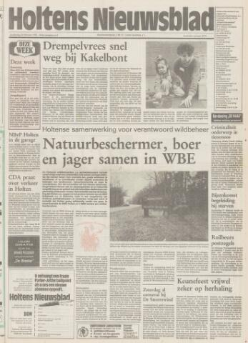Holtens Nieuwsblad 1992-02-20
