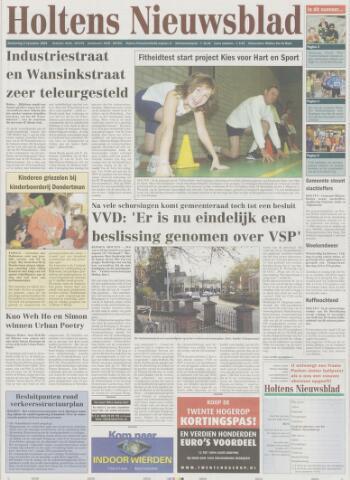 Holtens Nieuwsblad 2005-11-03