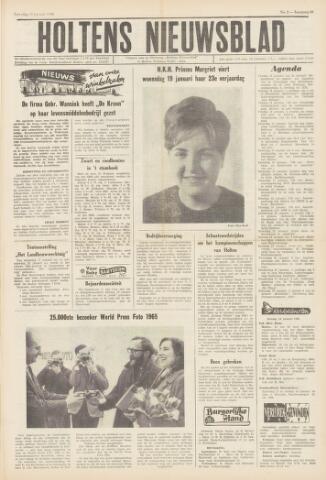 Holtens Nieuwsblad 1966-01-15