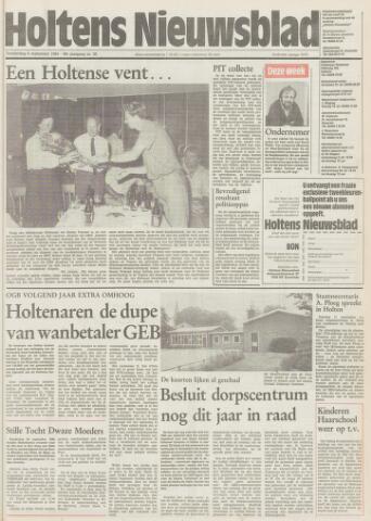 Holtens Nieuwsblad 1984-09-06