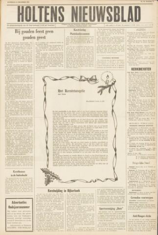 Holtens Nieuwsblad 1961-12-23