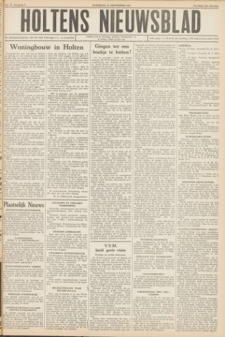 Holtens Nieuwsblad 1951-09-15