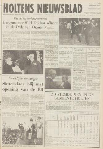 Holtens Nieuwsblad 1972-12-01