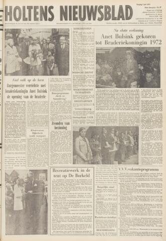 Holtens Nieuwsblad 1972-07-07