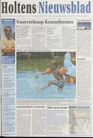 Holtens Nieuwsblad 2008-08-05