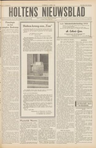 Holtens Nieuwsblad 1954-04-03
