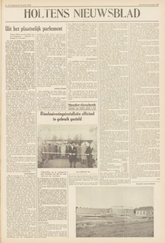 Holtens Nieuwsblad 1958-11-29