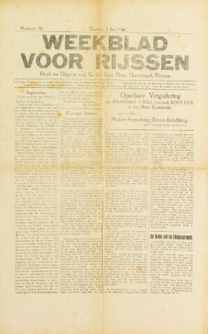 Weekblad voor Rijssen 1920-07-03