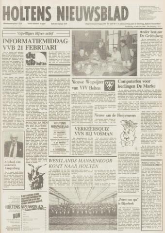 Holtens Nieuwsblad 1984-02-16