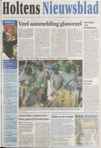 Holtens Nieuwsblad 2008-09-16