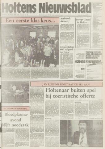 Holtens Nieuwsblad 1985-10-17