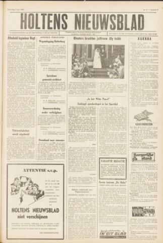 Holtens Nieuwsblad 1962-07-07