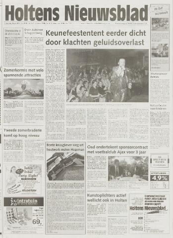 Holtens Nieuwsblad 2001-07-26