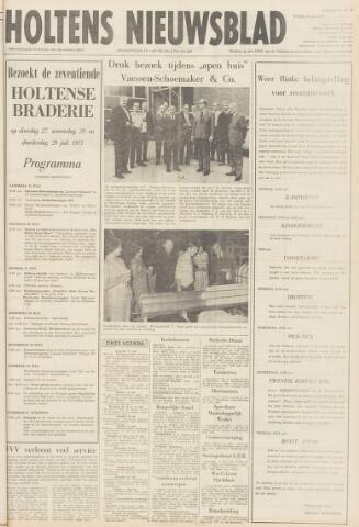 Holtens Nieuwsblad 1971-07-16