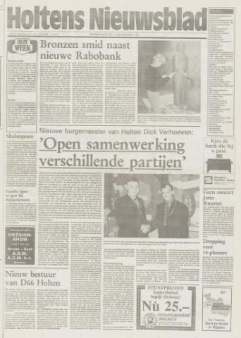 Holtens Nieuwsblad 1994-04-21