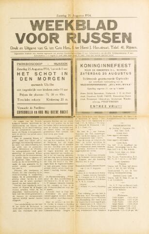 Weekblad voor Rijssen 1934-08-25