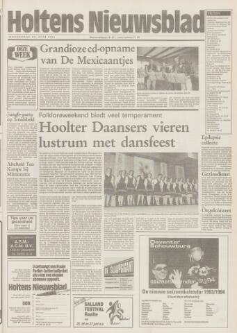 Holtens Nieuwsblad 1993-06-24