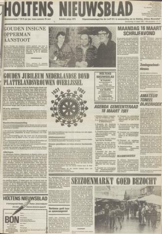 Holtens Nieuwsblad 1981-03-12