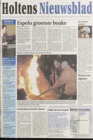 Holtens Nieuwsblad 2008-03-25