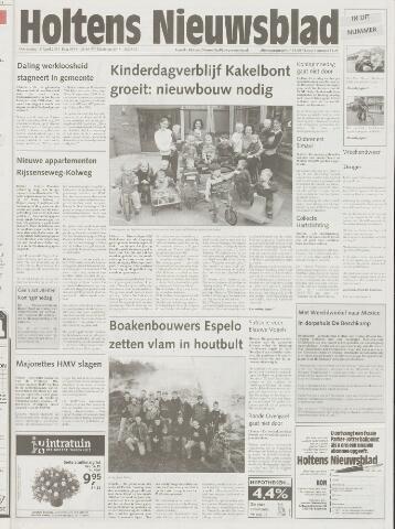 Holtens Nieuwsblad 2001-04-19