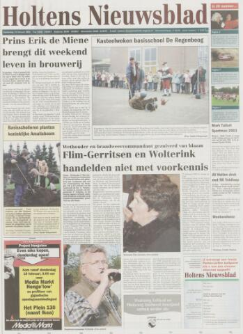 Holtens Nieuwsblad 2004-02-19
