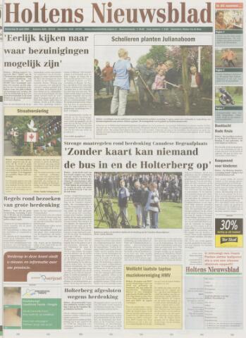 Holtens Nieuwsblad 2005-04-28