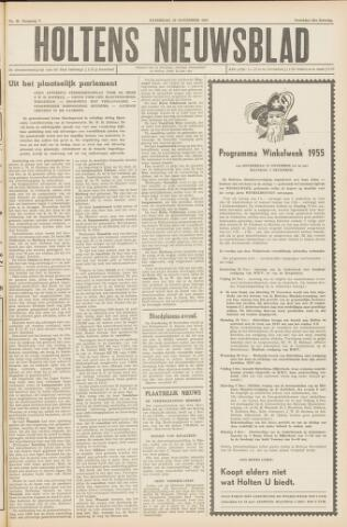 Holtens Nieuwsblad 1955-11-19