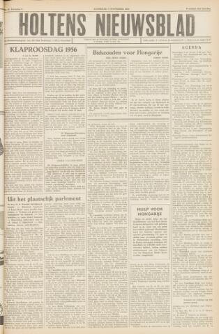 Holtens Nieuwsblad 1956-11-03