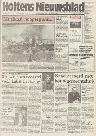 Holtens Nieuwsblad 1985-09-26