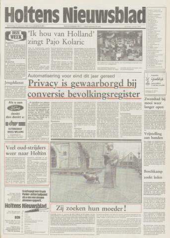 Holtens Nieuwsblad 1989-08-31