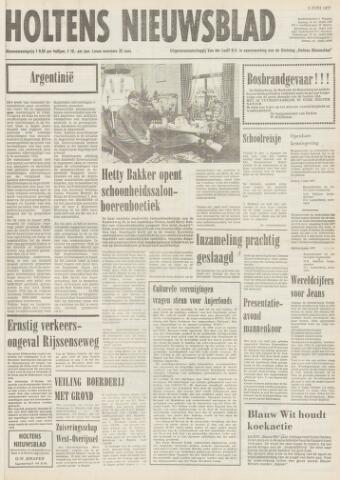 Holtens Nieuwsblad 1977-06-03