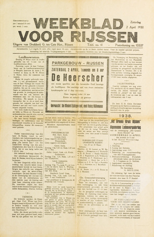 Weekblad voor Rijssen 1938-04-02