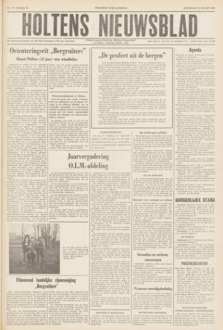 Holtens Nieuwsblad 1960-03-12