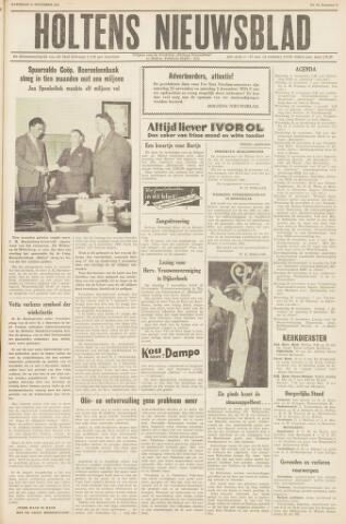 Holtens Nieuwsblad 1961-11-11