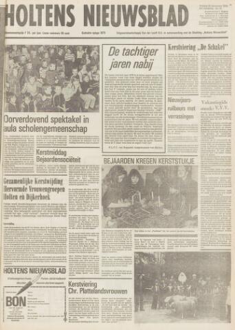 Holtens Nieuwsblad 1979-12-28