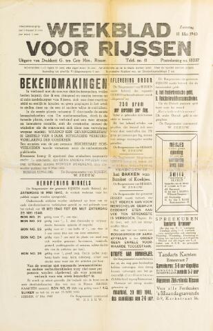 Weekblad voor Rijssen 1940-05-18