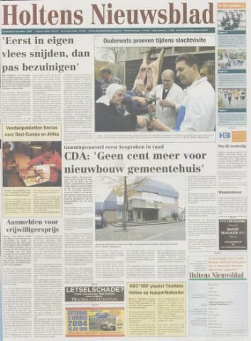 Holtens Nieuwsblad 2004-11-04