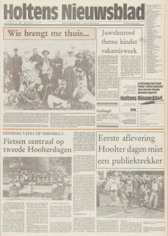 Holtens Nieuwsblad 1985-07-04